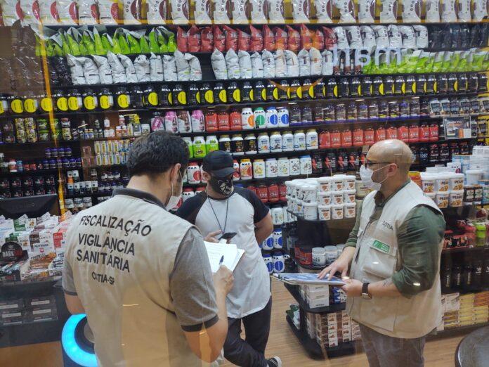Ação integrada de Cotia reforça a fiscalização em estabelecimentos comerciais